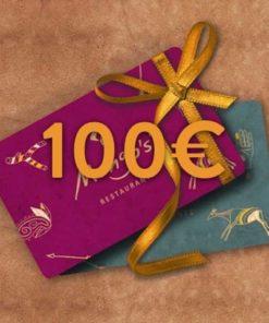 100 247x296 - 100€ Restaurant Gutschein