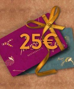 25 247x296 - 25€ Restaurant Gutschein