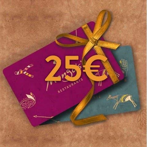 25 - 25€ Restaurant Gutschein