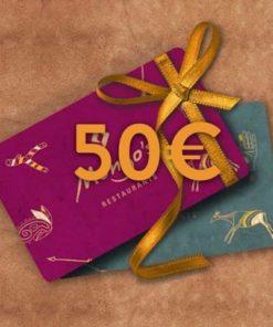 50 247x296 - 50€ Restaurant Gutschein