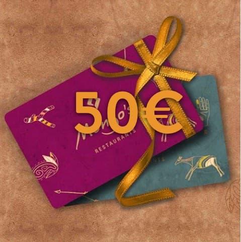 50 - 50€ Restaurant Gutschein