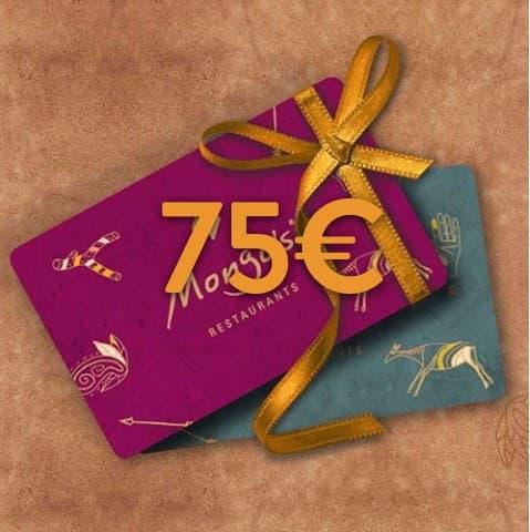 75 - 75€ Restaurant Gutschein